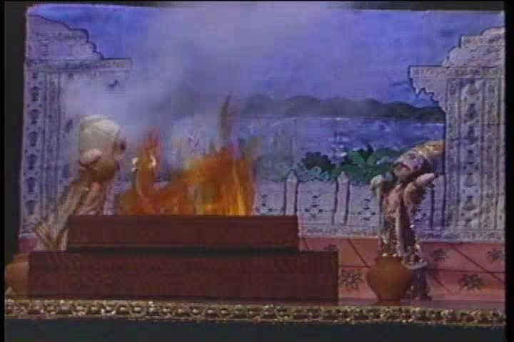 The Story of Bali Maharaja Puppet Show