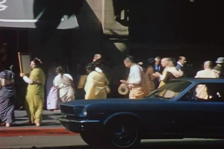 Srila Prabhupada in Los Angeles in the Summer of 1969
