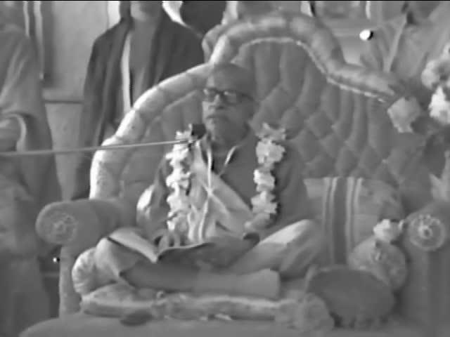 Srila Prabhupada Lecture of SB 1.8.27