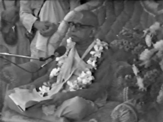 Srimad Bhagavatam Class 1.8.35 by A.C. Bhaktivedanta Swami Prabhupada