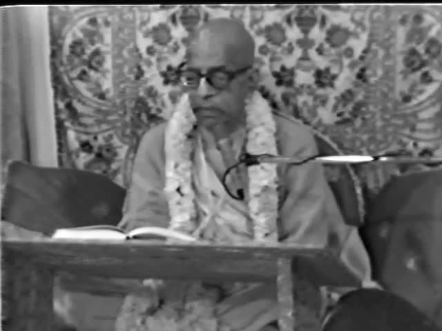 Srimad Bhagavatam Class 1.15.1 by A.C. Bhaktivedanta Swami Prabhupada