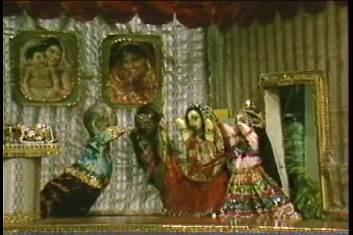 The Glories of Haridas Thakur Puppet Show