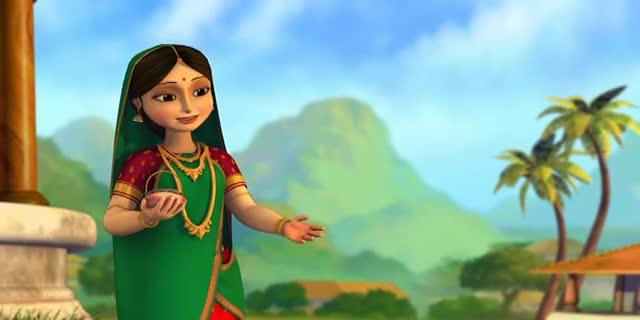 Little Krishna HD -- Enchanted Picnic (S1 E04)