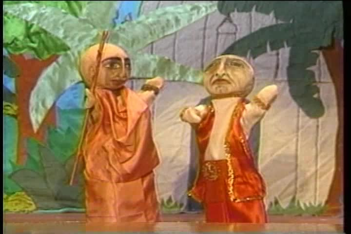 The Story of Ramacandra Puri Puppet Show