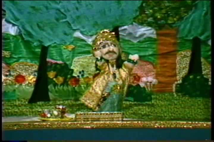 The Story of King Citraketu Puppet Show