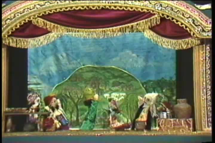 The Story of Govardhan Hill Puppet Show