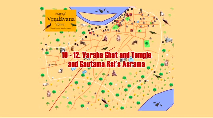 Vrindavan -- The Krishna-Balaram Tree
