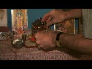 Giri Govardhana Bathes in the Yamuna