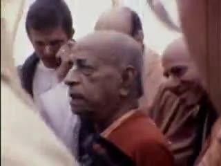 Home Video of Srila Prabhupada LA 1974