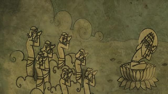 Little Krishna Movie -- Wonderous Feats Animated full-lenght movie -- HD