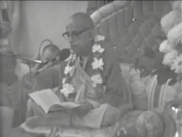 Srimad Bhagavatam Class 1.8.32 by A.C. Bhaktivedanta Swami Prabhupada