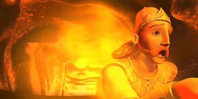 Little Krishna HD -- Fire and Fury (S1 E05)