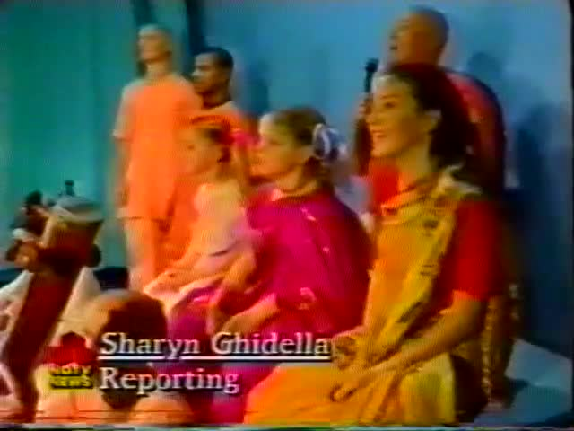 Recording of Traveling Temple and Leaders of USSR Film clips -- Gaura Gopala
