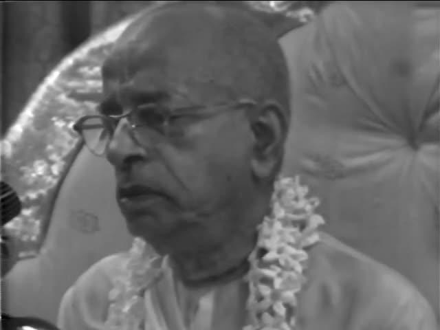 Srimad-Bhagavatam Class 2.1.6 - His Divine Grace A.C. Bhaktivedanta Swami Prabhupada