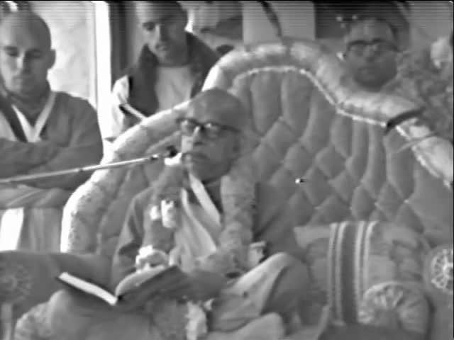 Srila Prabhupada Speaks on Srimad-Bhagavatam 1.8.23