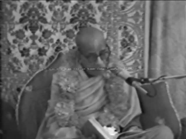 Srimad Bhagavatam Class 2.1.1 by A.C. Bhaktivedanta Swami Prabhupada