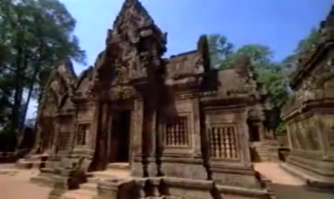 Angkor wat -- Jewles in the Jungle -- BBC Mysteries of Asia