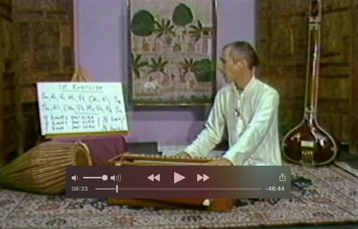 Harmonium Lessons with Vaiyasaki dasa