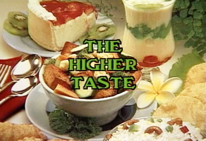 The Higher Taste with Peter Burwash