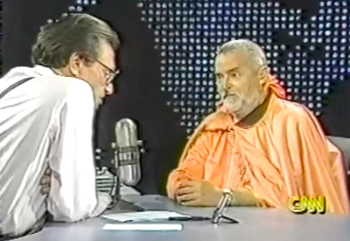 Larry King Live interviews Kirtanananda Swami Bhaktipada on Murder and Kidnapping